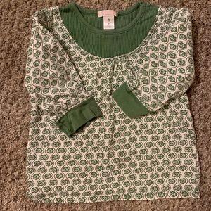 4T Girls 3/4 Sleeve Shirt